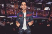 Varun Dhawan attends fighting championship UFC in Abu Dhabi