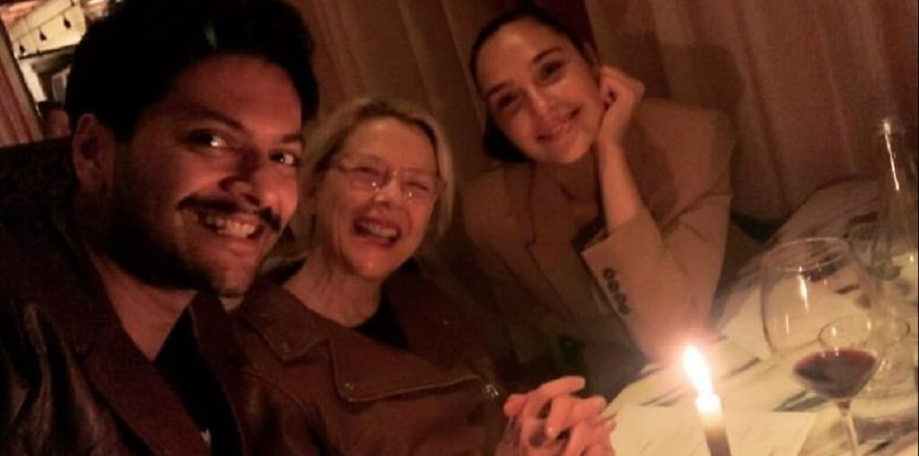 birthday dinner for Ali Fazal in London