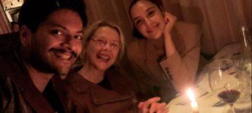 birthday dinner for Ali Fazal in London