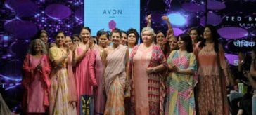 Show by Anupamaa Dayal on Breast Cancer Awareness