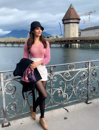 Karishma Tanna & Adaa Khan in Switzerland