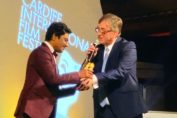 Nawazuddin Siddiqui honoured with the Golden Dragon Award