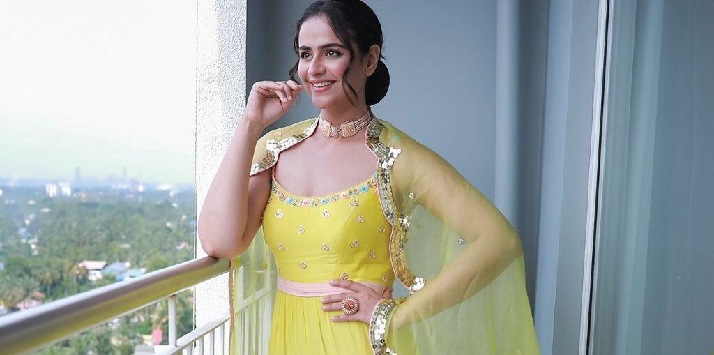 Prachi Tehlan in yellow