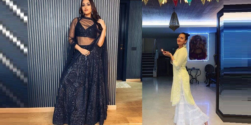 Sonakshi Sinha's Diwali looks
