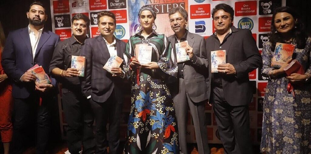 Sonam K Ahuja launched Khalid Mohamed's debut novel 'The Aladia Sisters',