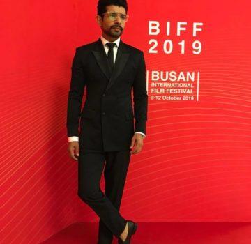 Viineet Kumar at Busan International Film Festival
