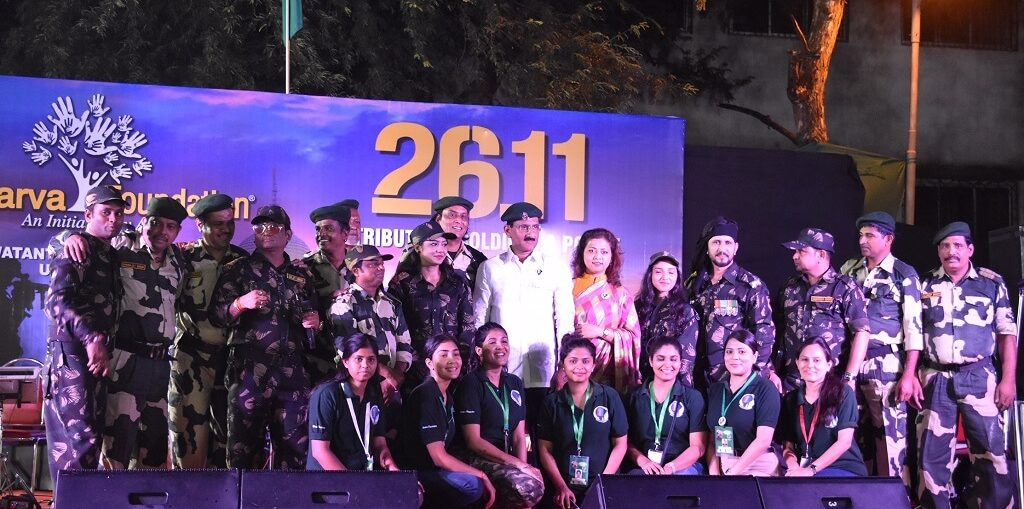 Atharva Foundation organised A Tribute and salute to Soldiers & Mumbai Police