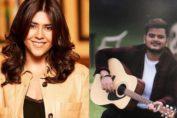 Ekta Kapoor thanks Vishal Mishra for Teri Hogaiyaan