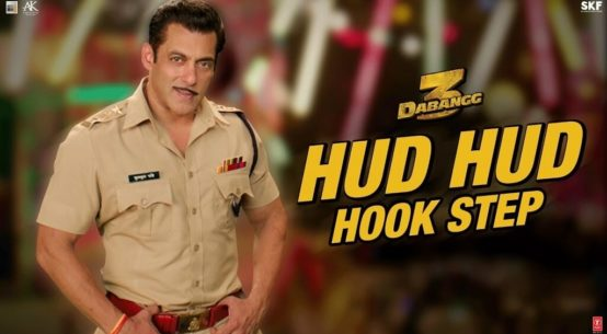 Hud Hud hook step for salman khan fans