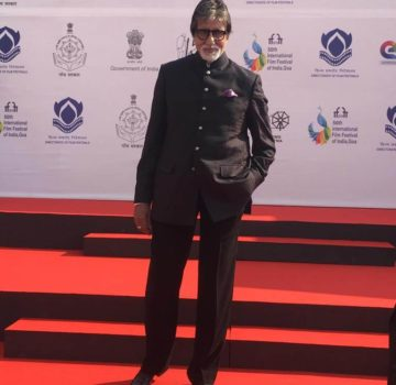 IFFI Golden Jubilee Amitabh Bachchan