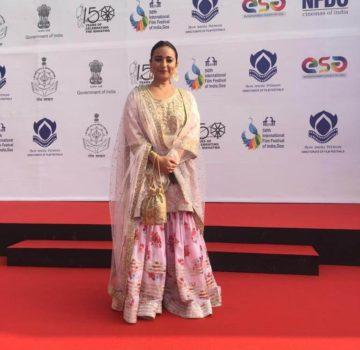 IFFI Golden Jubilee Divya Dutta