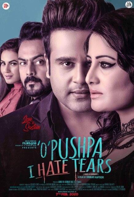 """""""O' Pushpa I Hate Tears"""" poster"""