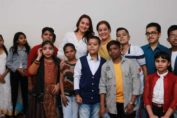 Sonakshi Sinha Celebrating Children's Day