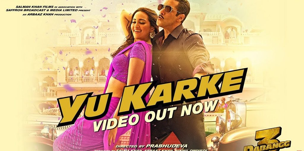 Yu Karke Video from Dabangg 3