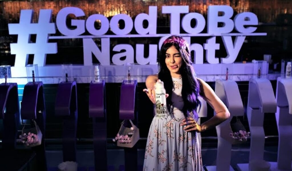 Adah Sharma at the launch of Naughty Girl