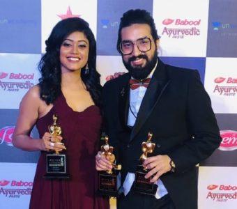 Sachet-Parampara bag 'Best Album' and 'Best playback singer' award at Star Screen Awards