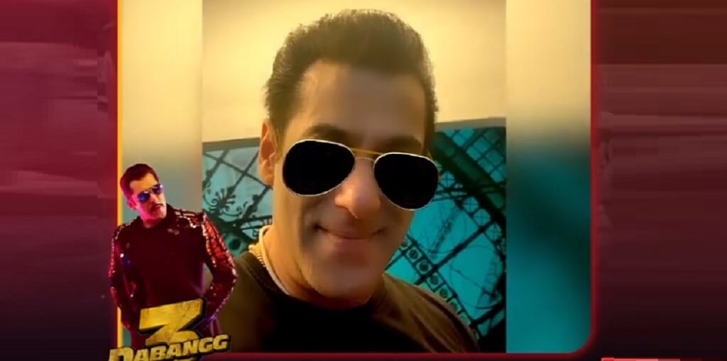 Chulbul Pandey 'a Filter takes over Facebook, Instagram and Snapchat!