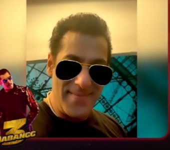 For the 1st time ever, Chulbul Pandey 'a Filter takes over Facebook, Instagram and Snapchat! Ab Isse Kehte Hain Dabangg Filter Launch