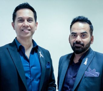 Filmmaker-duo Raj and DK sported a symbolic 'white ribbon' at the StarScreenAwards on 8th December 2019.