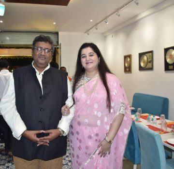 Aaditya Thackeray inaugurates Hridaynath Mangeshkar and family's restaurant (10)