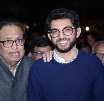 Aaditya Thackeray inaugurates Hridaynath Mangeshkar and family's restaurant (4)