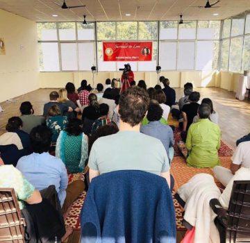 Attendies at Maharishikaa Preeti self awarness event