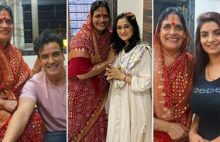 Celebrities seek blessings of Godwoman Baisa