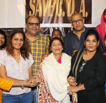 Saroj Khan with Cine Dancers Association