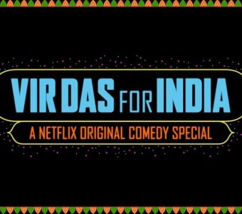 Vir Das' third Netflix special – For India's trailer is out!