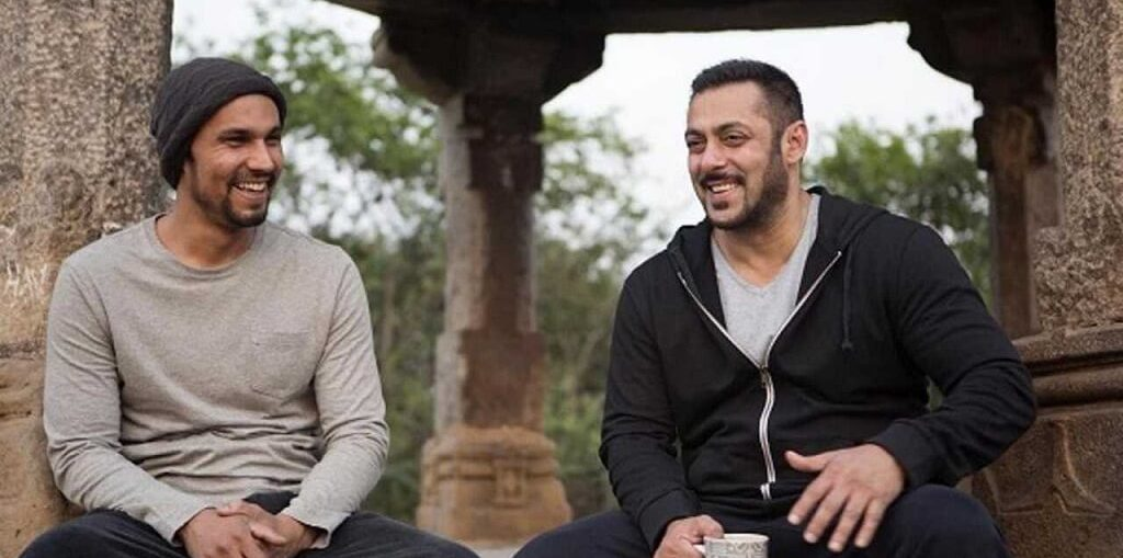 Randeep Hooda and Salman Khan in Goa
