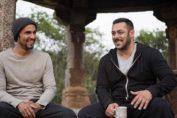 Randeep Hooda and Salman Khan in Goa