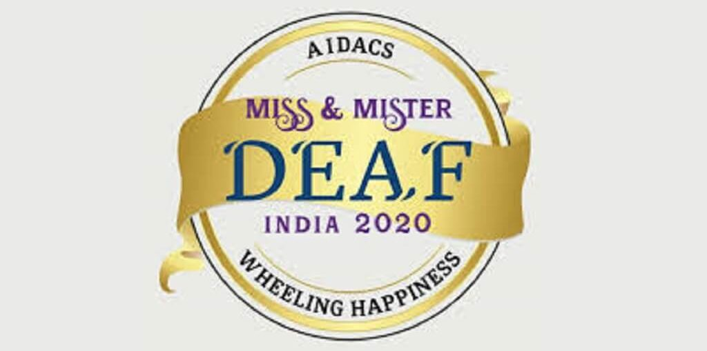 AIDACS and Wheeling Happiness Announce 9th Miss and Mister Deaf 2020