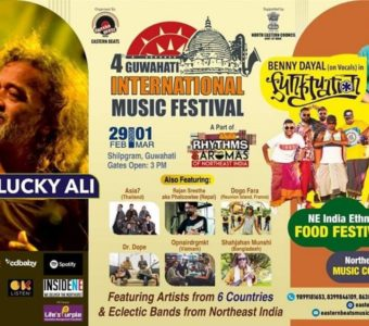 Lucky Ali and Benny Dayal to grace The fourth edition of Guwahati International Music Festival