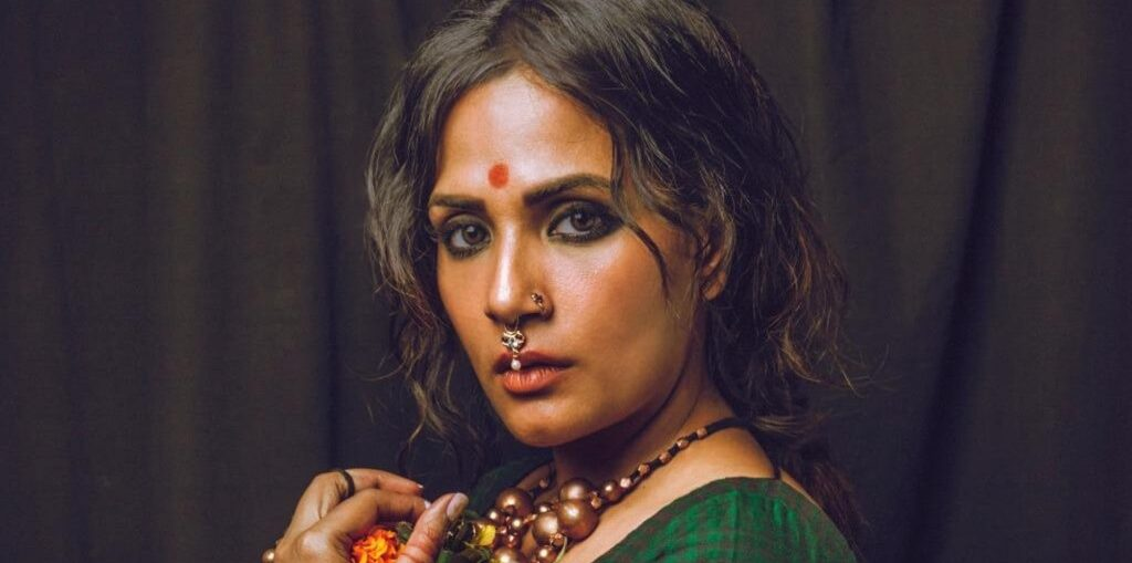 Richa Chadha unveils look from her next film