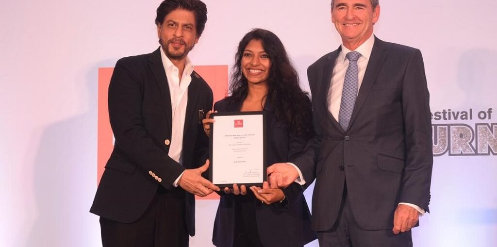 Shah Rukh Khan awards the PhD scholarship named after him to a girl from Kerala
