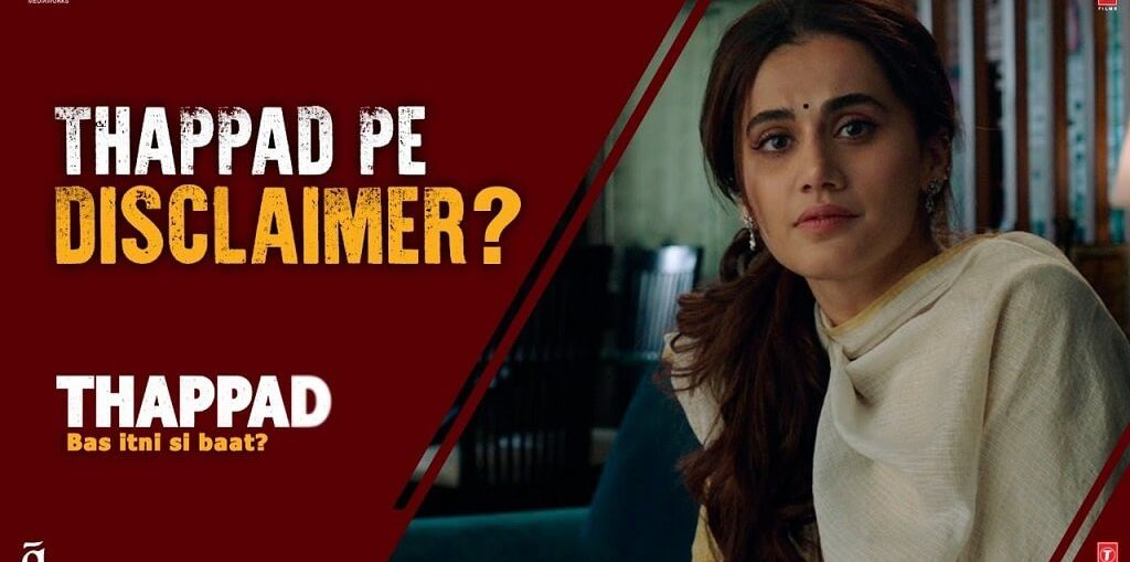 Taapsee Pannu and makers of Thappad ask a pertinent question thorough a unique Change.org petition