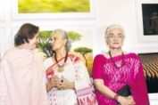 Waheeda Rehman Helen Asha Parekh & Others At Roopkumar Rathod's Photo Book 'Wild Voyage' Launch