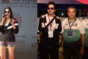 Zayed Khan & Sonnalli Seygall at Parinee Juhu Half Marathon 2020