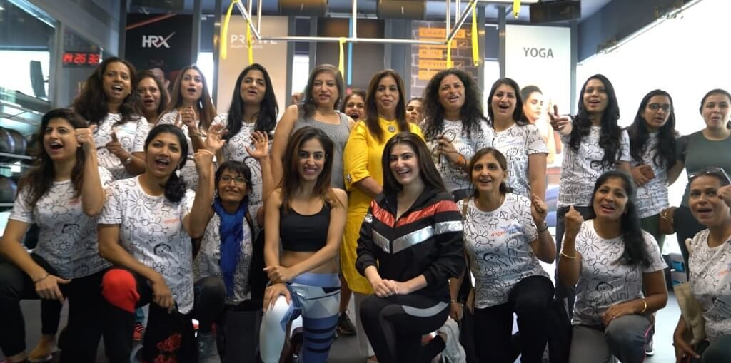 HRX and Angel Express Foundation, Priya Banerjee and Shivaleeka Oberoi facilitate Super20 women on Women's Day 2020
