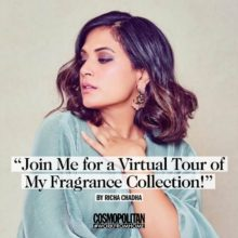 Cosmopolitan #WorkFromHome issue Richa Chadda