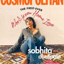 Cosmopolitan #WorkFromHome issue Shobhita