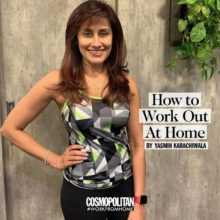 Cosmopolitan #WorkFromHome issue Yasmin