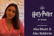 Alia Bhatt reads Harry Potter at Home