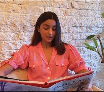 NEW CHAPTER OF HARRY POTTER Read by Alia Bhatt with a cameo from Alec Baldwin with a special guest