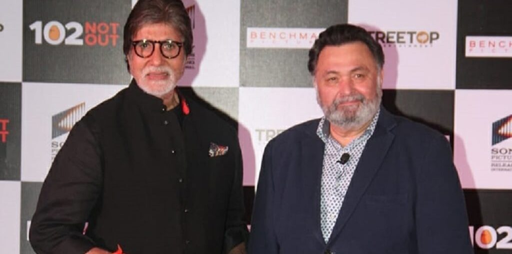 Amitabh Bachchan wrote on his blog about rishi kapoor