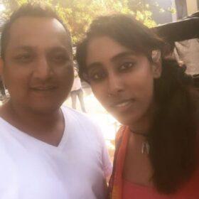 Apurva Soni with Harsh Chhaya