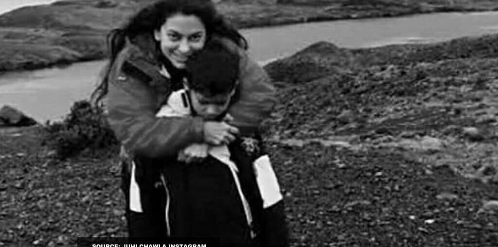 Juhi Chawla plants 1000 trees on son's birthday
