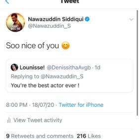 Nawazuddin Siddiqui fans on Raat Akeli Hai trailer