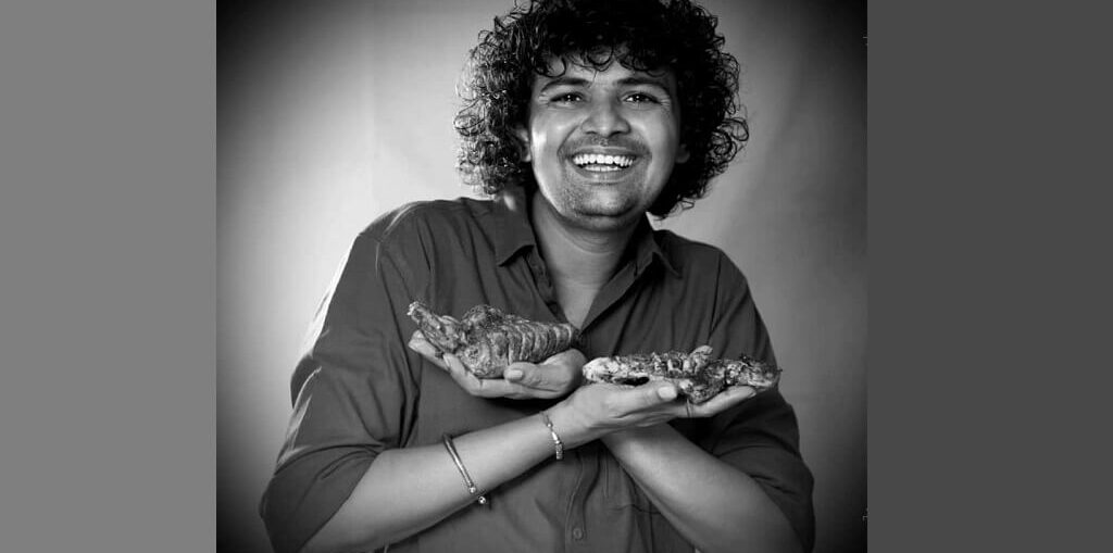 Prashant Dhotkar owner of Charcoal BBQ