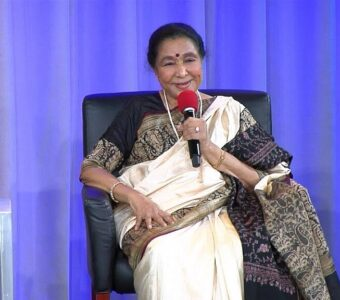Padma Vibhushan awardee veteran singer Asha Bhosle announces a musical talent show for young talented singers